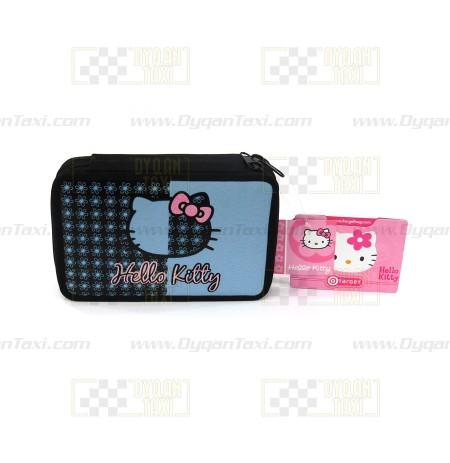 Portofol per aksesoret Hello Kitty triple bojeqiell