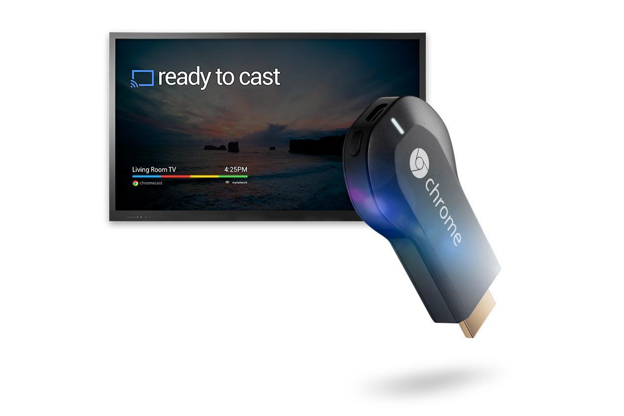 Google Chromecast 1 Nderlidhes Smartphone - TV