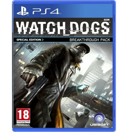 Watch Dogs D1 Special Edition per PS4
