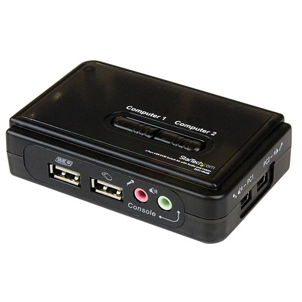 Switch KVM me 2 porta USB