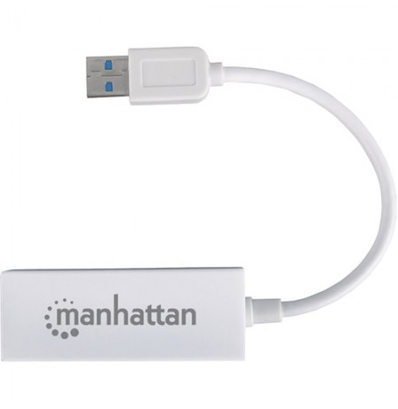 Adaptor porte Ethernet Manhattan USB 2.0