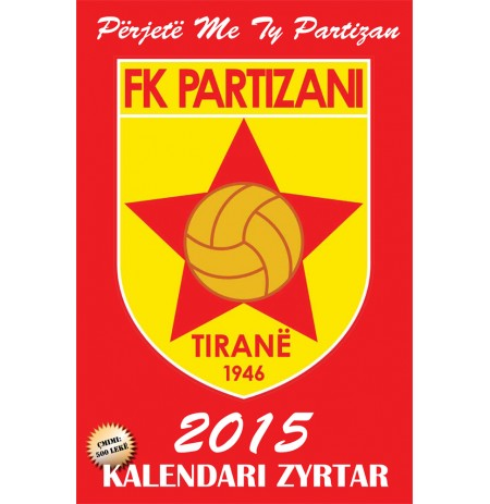 Kalendar 2015 FK Partizani