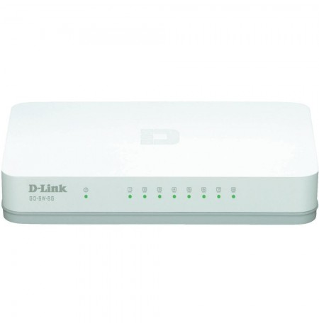 Switch D-Link me 8 porta 10/100/1000Mbps