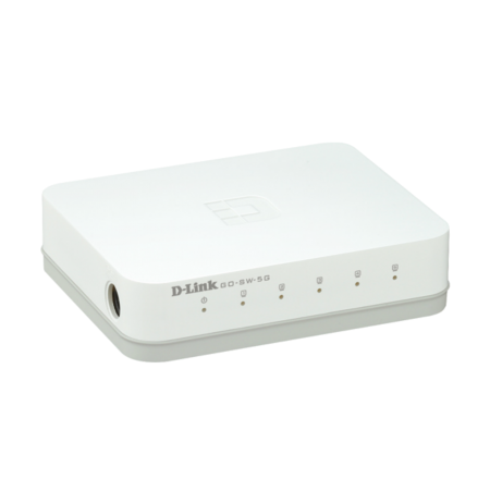 Switch D-Link me 5 porta 10/100/1000Mbps