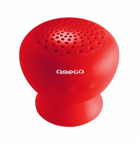 Boks Bluetooth OMEGA V.2.1 Splash Rojo Red