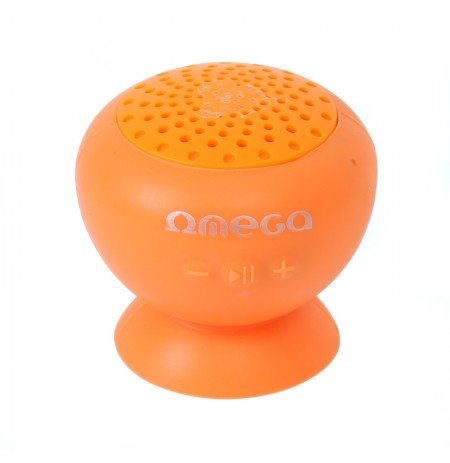 Boks Bluetooth OMEGA V.2.1 Splash Rojo Orange