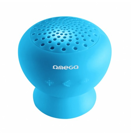 Boks Bluetooth OMEGA V.2.1 Splash Rojo Blue
