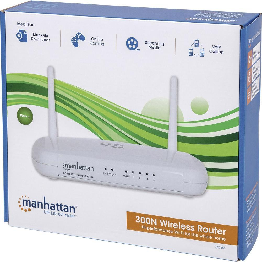 Router Manhattan 300Mbps Wireless