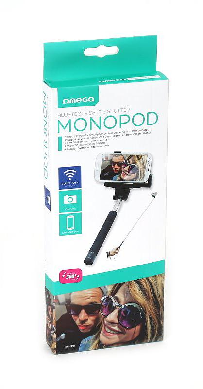 Shkop per Selfie Omega Bluetooth