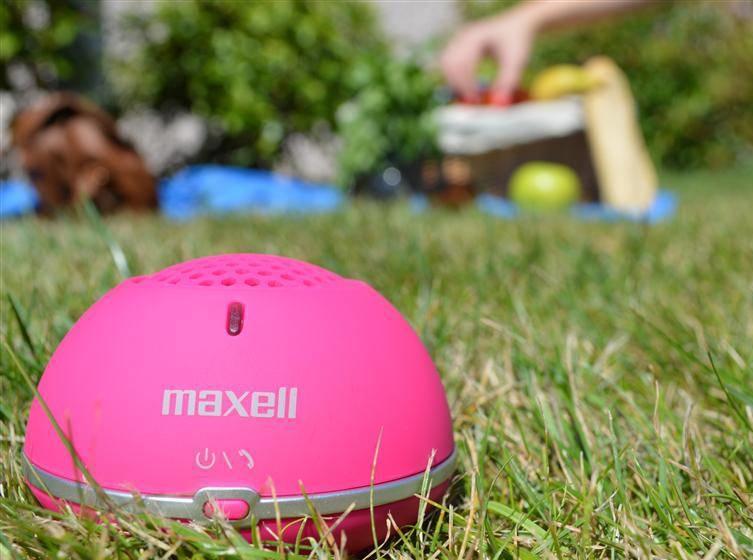 Boks Bluetooth Maxell V3.0 MXSP-BT01 Pink