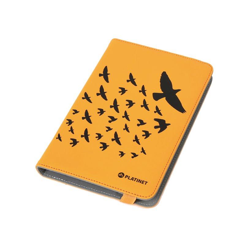 "Cante Tableti Platinet Nature Birds Orange 7"""