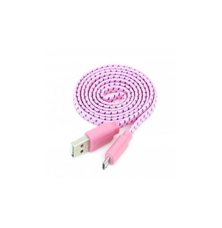 Kabllo Omega Fabric Pink iPhone5-iPad4
