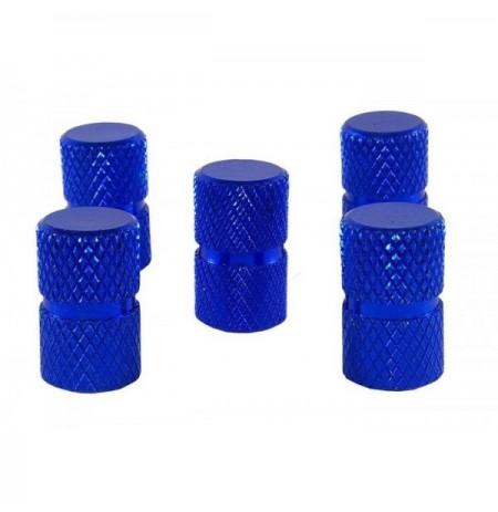 Kapuc ventili alumin set 5 blu