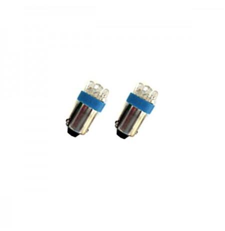 Llambe Led T4W 12V 4 LED Blu set2