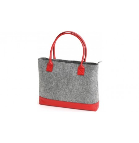 Cante Laptopi Platinet Felt Collection Red