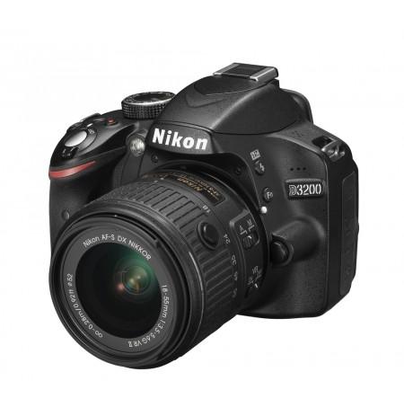 Aparat Foto Nikon D3200 + Lente 18-55VR