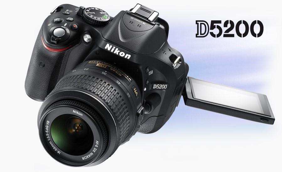 Aparat Foto Nikon D5200