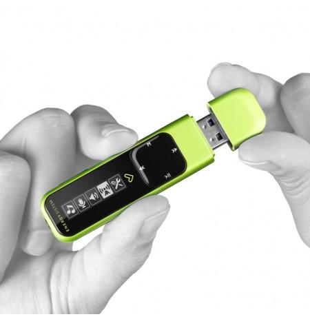 MP3 Energy Sistem Active 2 Neon Jeshile