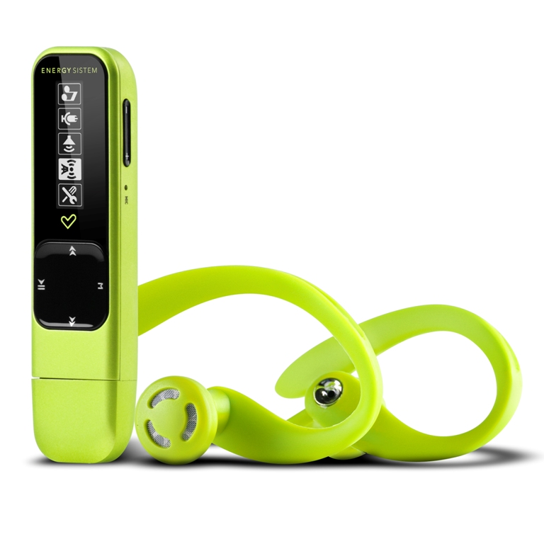 MP3 Energy Sistem Active 2 Neon Jeshile