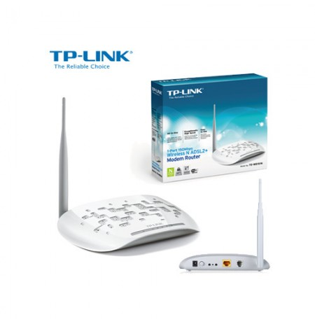 Wireless N ADSL2+ Modem Router W8151N TP Link