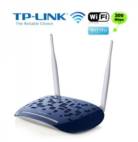 Wireless N ADSL2+ Modem Router W8960N TP Link