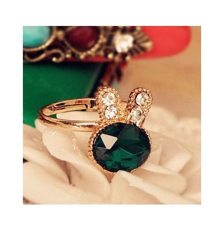 Unaze Emerald Bunny