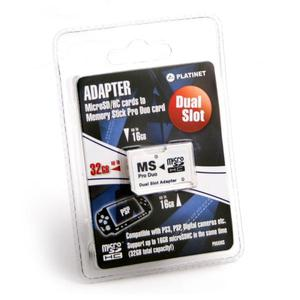 Adaptor PRO DUO Platinet micro SDHC